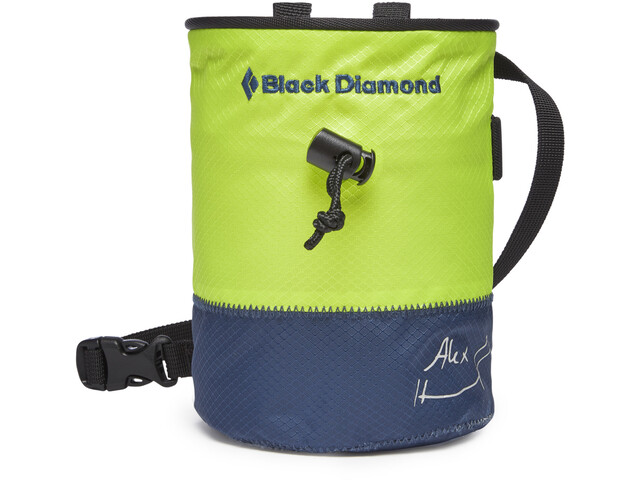 Black Diamond Freerider Kalkpose M/L, grøn/blå